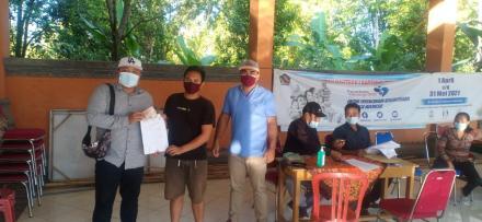 Penyaluran BLT DD Bulan Mei 2021 Desa Mengening
