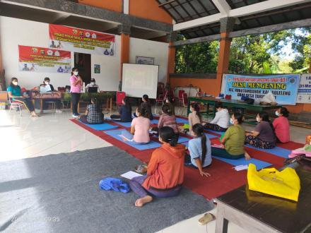 Kegiatan Kelas Ibu Hamil Tahap II di Desa Mengening