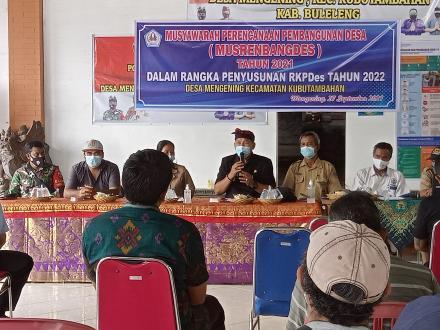 MusrenbangDesa Tahun 2022 Desa Mengening
